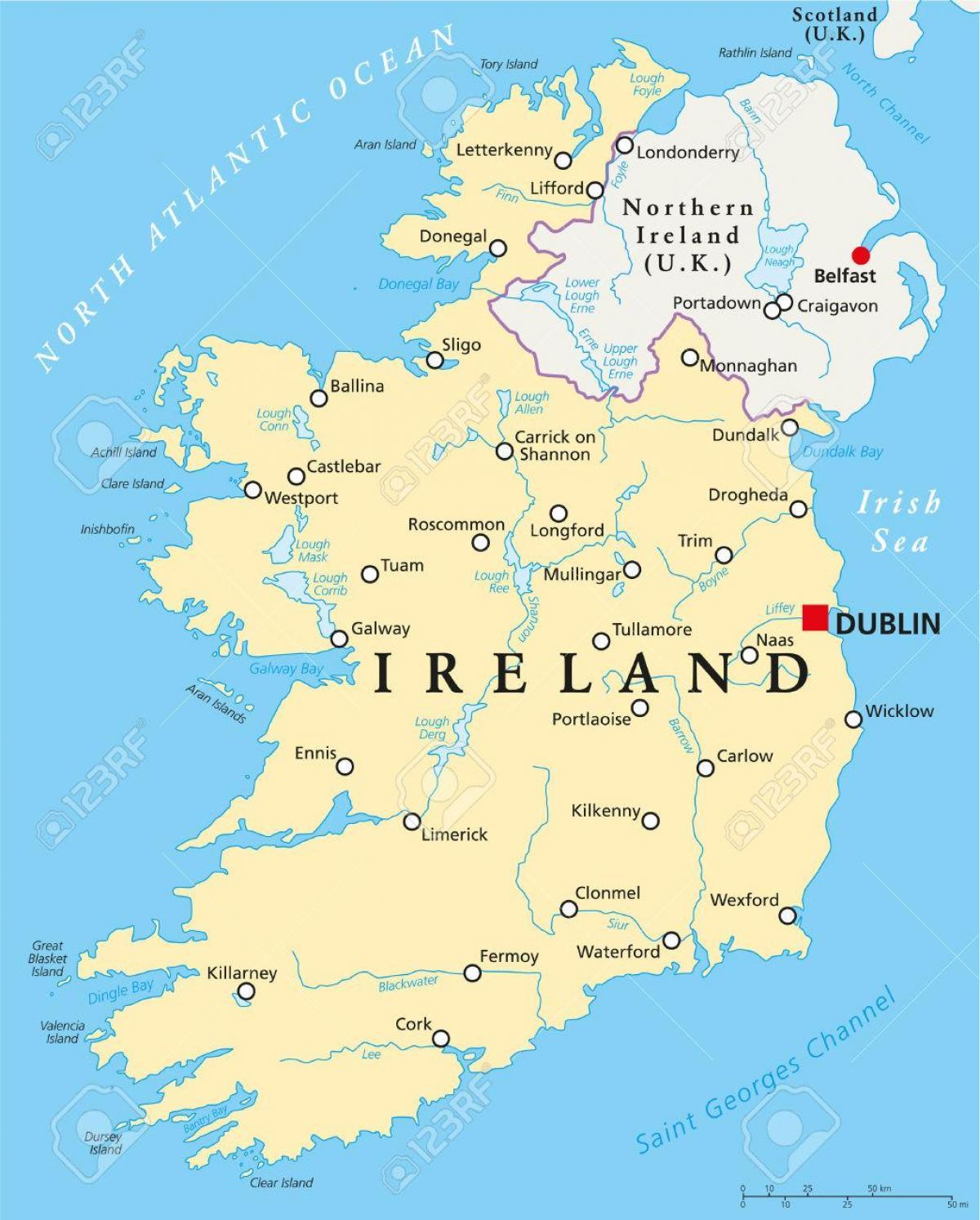 dublin mapa Dublin ireland mapa   Dublin mapa ireland (Ireland) dublin mapa
